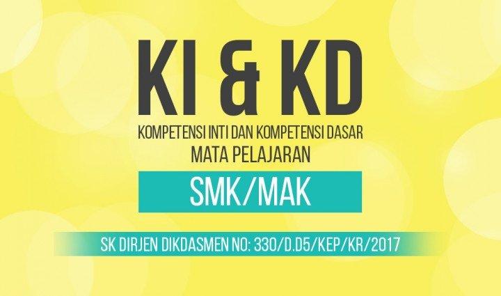 kompetensi inti kompetensi dasar KI KD smk 2017