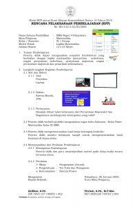 rpp 1 halaman